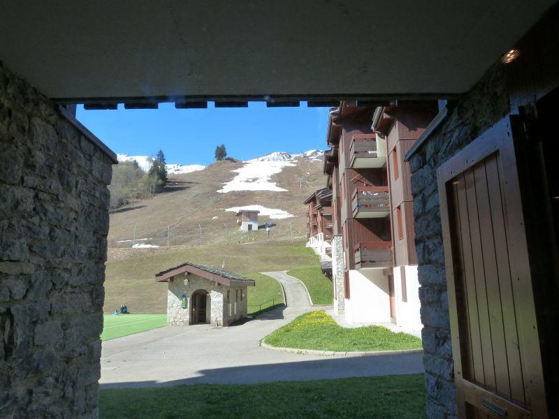 Vue de la terrasse Location Appartement 110665 Valmorel
