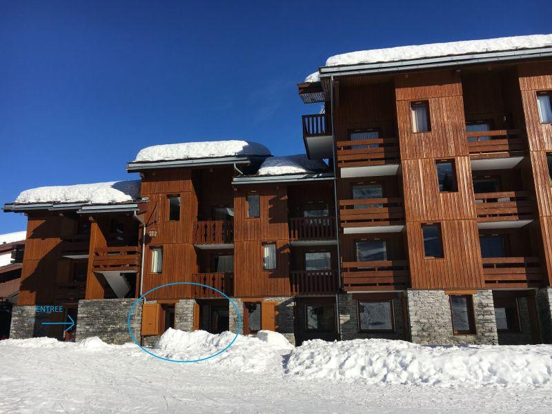 Vue extérieure de la location Location Appartement 110665 Valmorel
