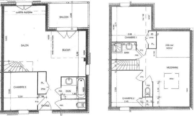 Plan de la location Location Appartement 111117 Les Saisies