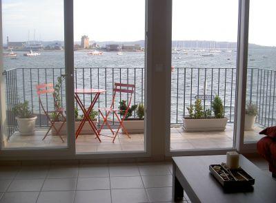 Vue depuis la location Location Appartement 113015 Camaret sur Mer