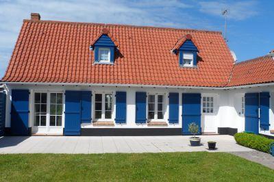 Vue extérieure de la location Location Villa 114204 Hardelot