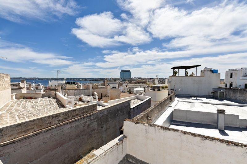 Vue de la terrasse Location Appartement 116172 Gallipoli