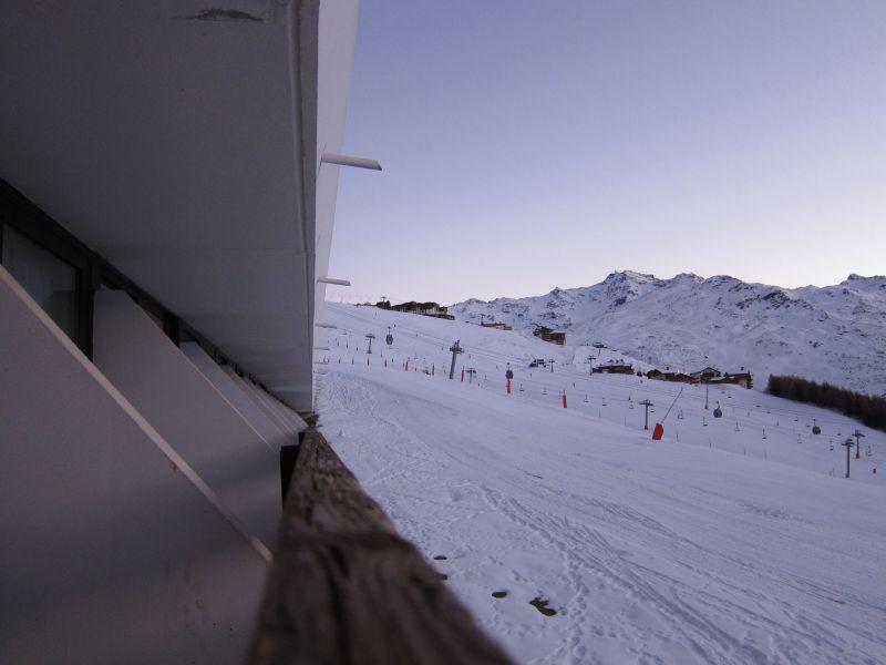 Vue du balcon Location Studio 116973 Les Menuires