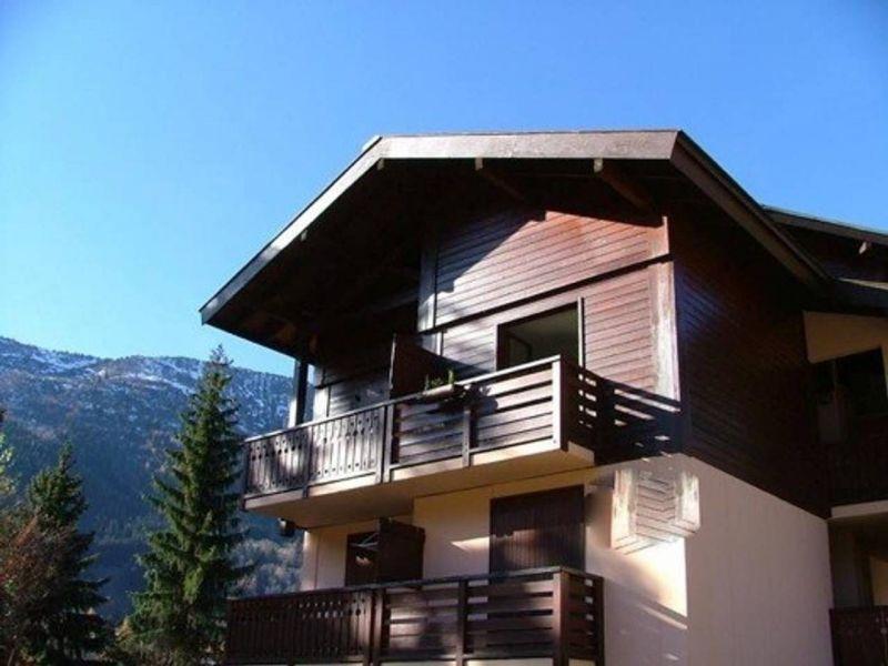 Vue extérieure de la location Location Studio 117797 Chamonix Mont-Blanc