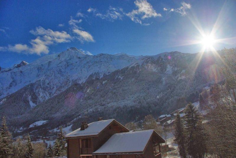 Vue du balcon Location Studio 117797 Chamonix Mont-Blanc