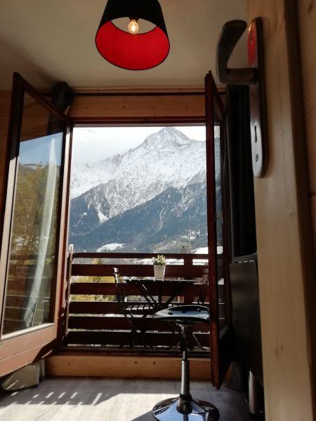 Vue depuis la location Location Studio 117797 Chamonix Mont-Blanc