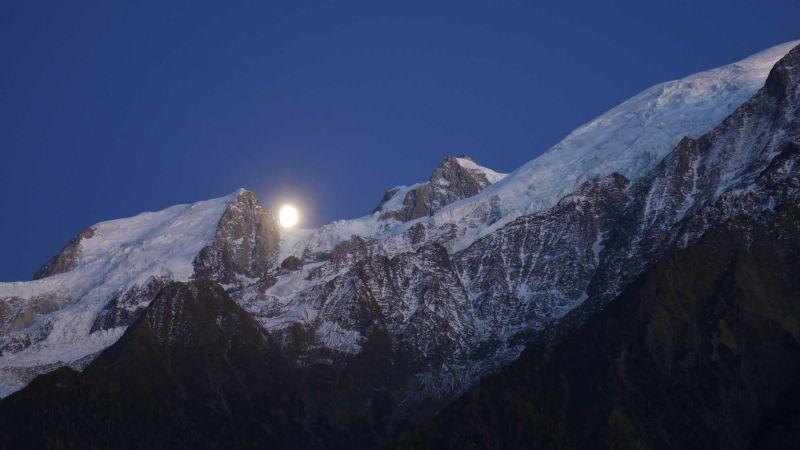 Vue de la terrasse Location Studio 117797 Chamonix Mont-Blanc