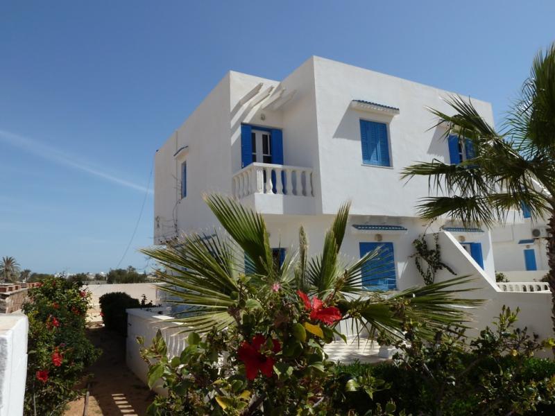 Vue extérieure de la location Location Maison 68407 Djerba