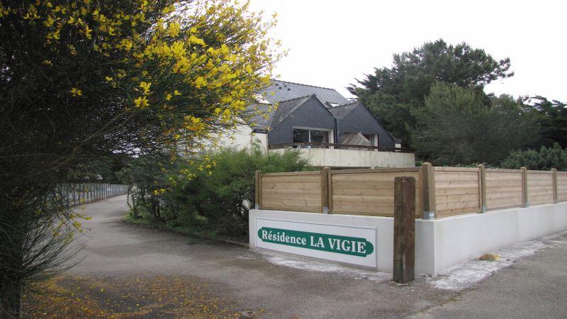 Vue extérieure de la location Location Appartement 68871 Quiberon