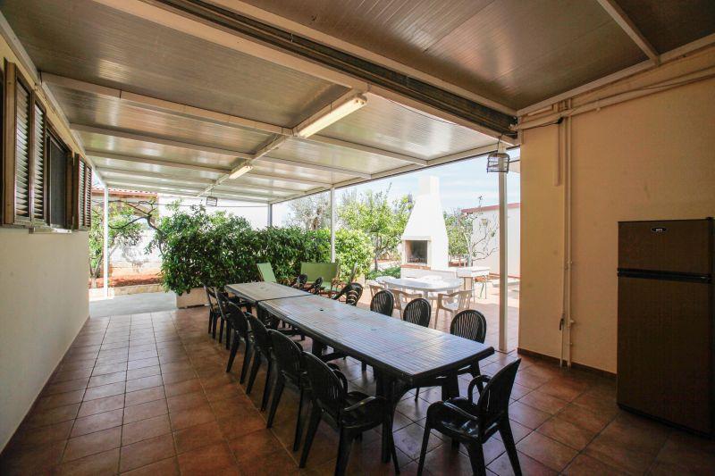 Vue de la terrasse Location Maison troglodyte 69168 Gallipoli