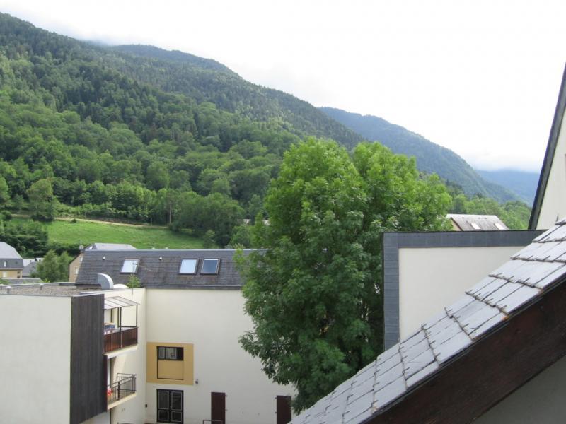 Vue de la terrasse Location Appartement 72151 Saint Lary Soulan