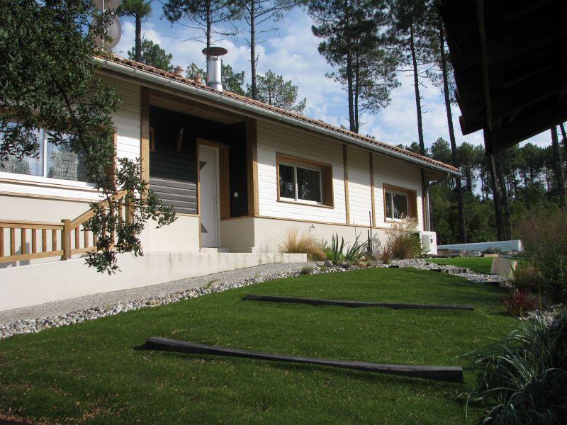 Vue extérieure de la location Location Villa 72739 Moliets