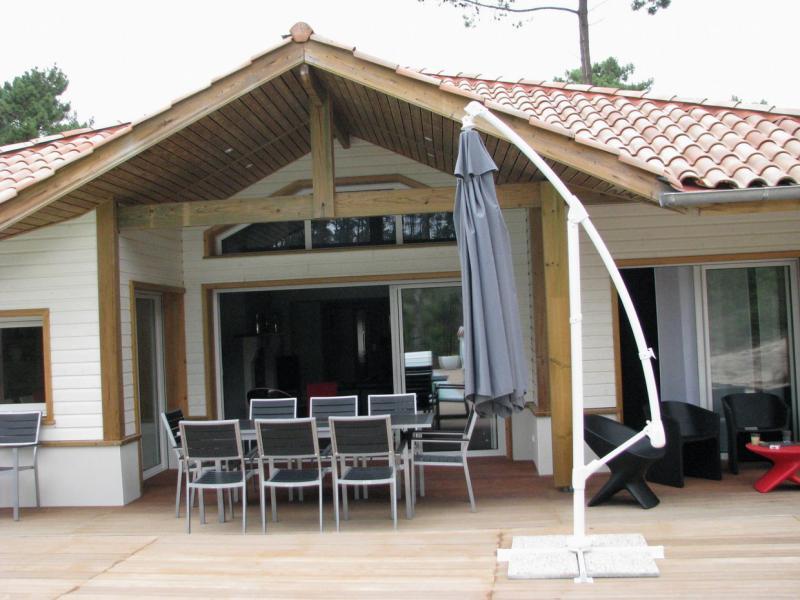 Vue de la terrasse Location Villa 72739 Moliets