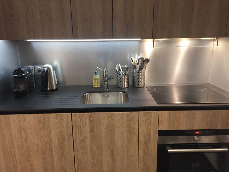 Cuisine indépendante Location Appartement 73734 Courchevel