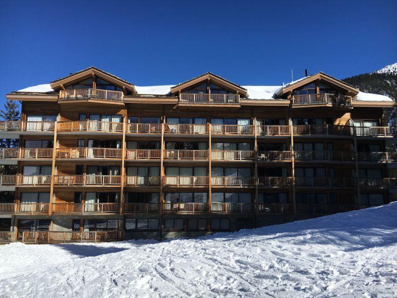 Vue extérieure de la location Location Appartement 73734 Courchevel