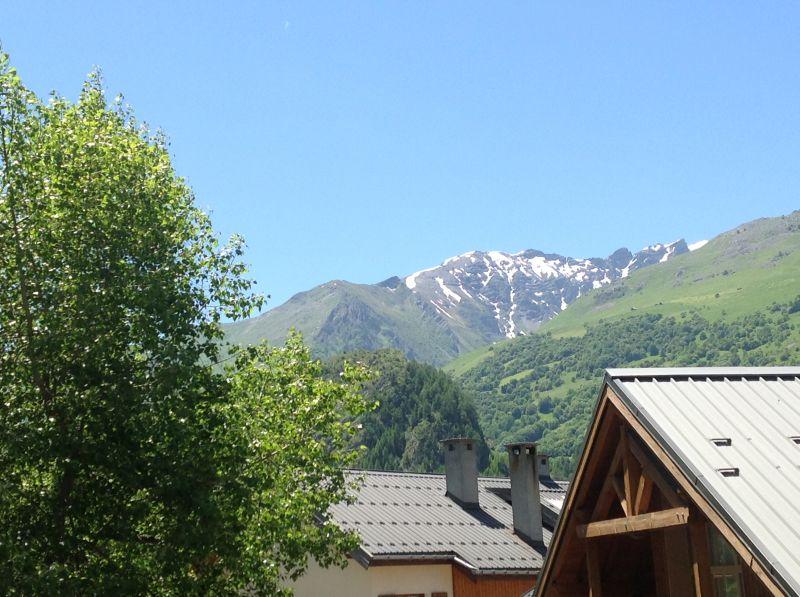 Vue du balcon Location Appartement 74411 Valloire