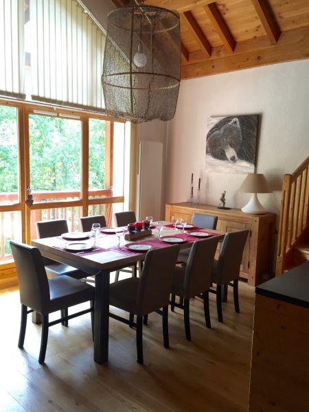 Salle à manger Location Appartement 74411 Valloire