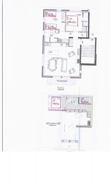 Plan de la location Location Appartement 76576 Valmorel