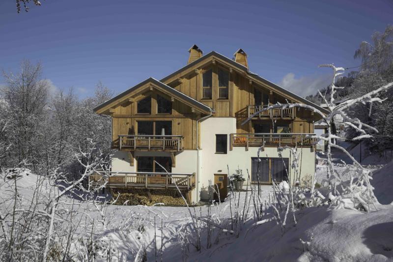Vue extérieure de la location Location Appartement 76576 Valmorel