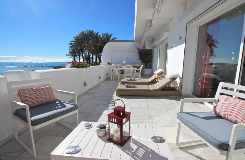 Vue de la terrasse Location Appartement 84366 Marbella