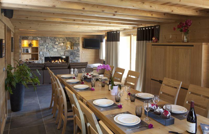 Salle à manger Location Chalet 86535 Le Grand Bornand