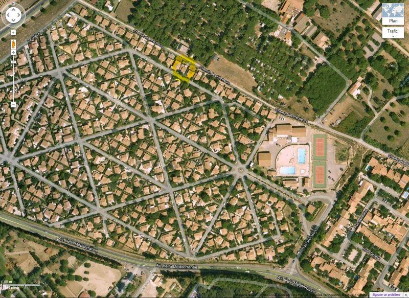 Carte Location Villa 89478 Valras-Plage
