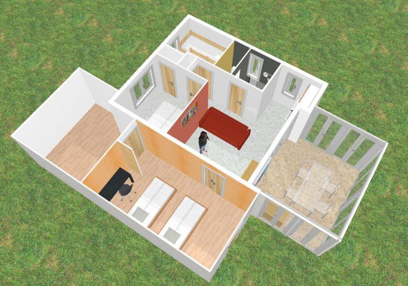 Plan de la location Location Villa 89478 Valras-Plage