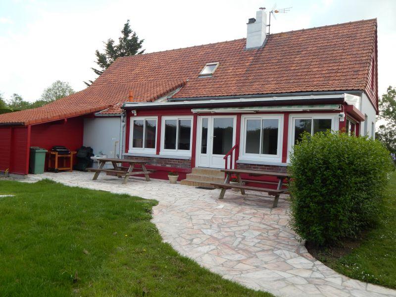 Vue de la terrasse Location Maison 90958 Quend