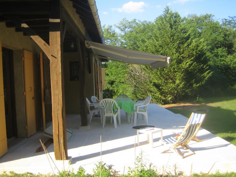 Vue de la terrasse Location Maison 94254 Bergerac