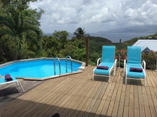 Vue de la terrasse Location Villa 99778 Trois Ilets