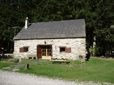 Vue ext�rieure de la location Location Gite 102098 Saint Lary Soulan