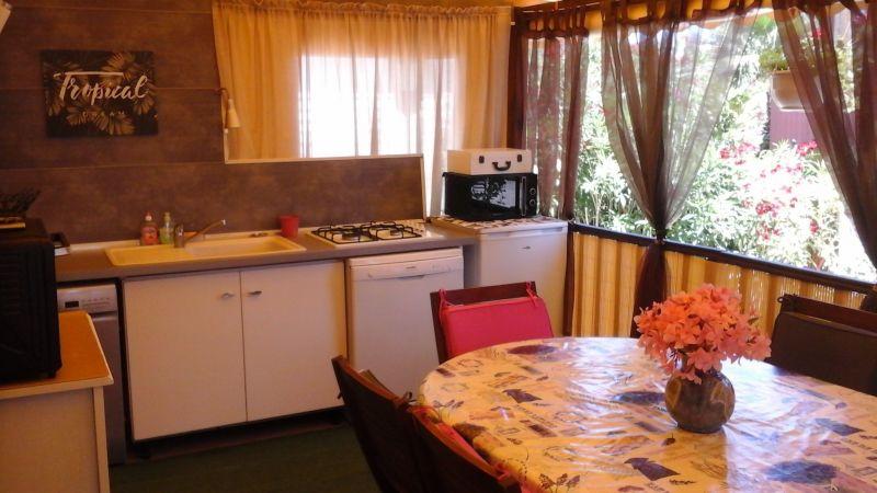Cuisine d'été Location Mobil-home 107839 Ramatuelle