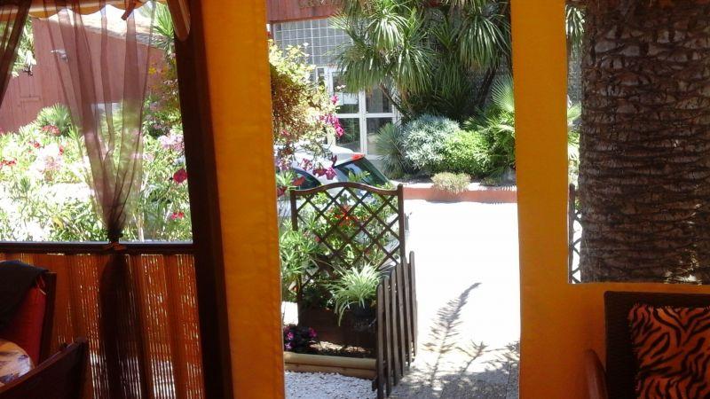 Vue depuis la location Location Mobil-home 107839 Ramatuelle