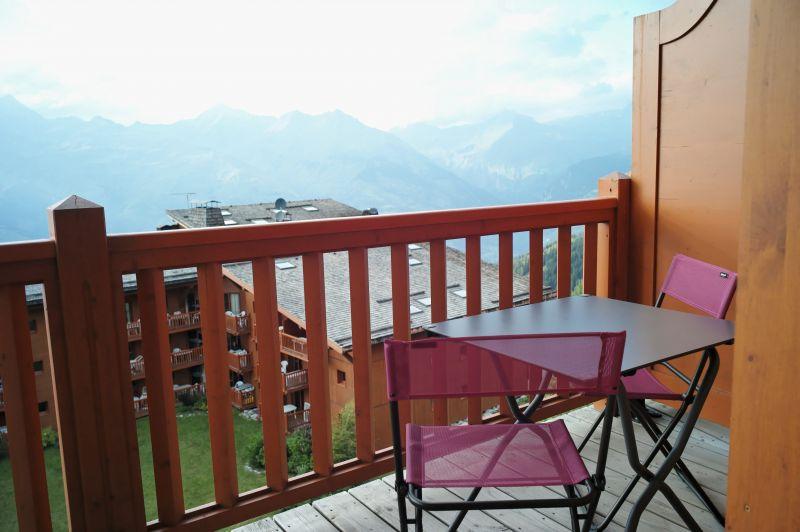 Vue de la terrasse Location Appartement 108341 Les Arcs