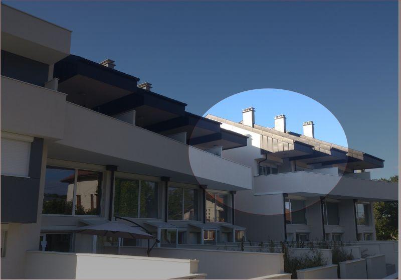 Vue extérieure de la location Location Appartement 110536 Thonon Les Bains