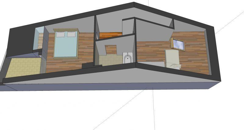 Plan de la location Location Appartement 110536 Thonon Les Bains