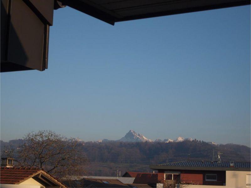 Vue de la terrasse Location Appartement 110536 Thonon Les Bains