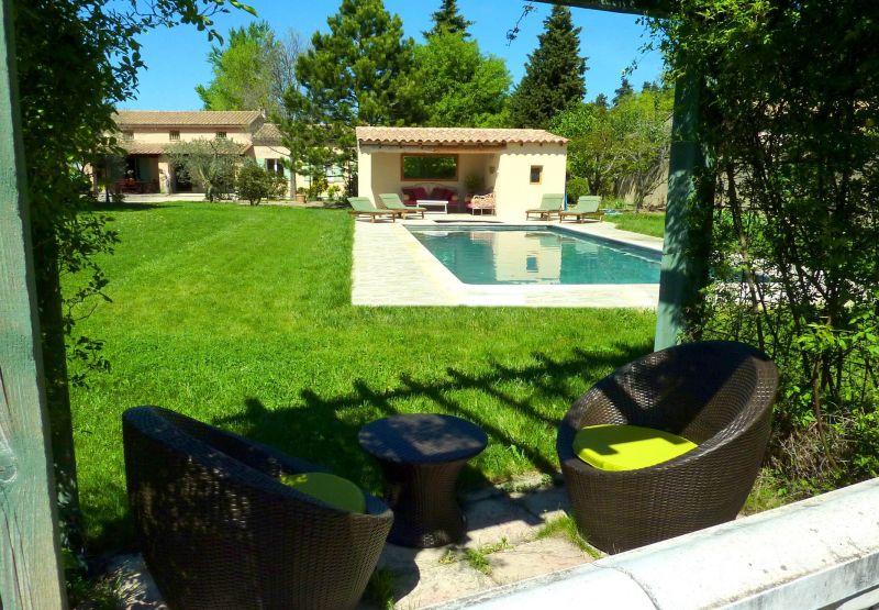 Jardin Location Maison 113130 Avignon