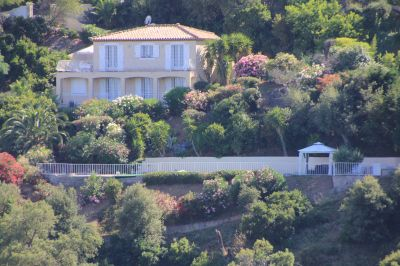 Vue extérieure de la location Location Villa 114004 Cavalaire-sur-Mer