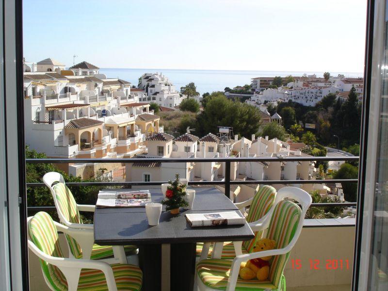 Vue de la terrasse Location Appartement 114121 Nerja