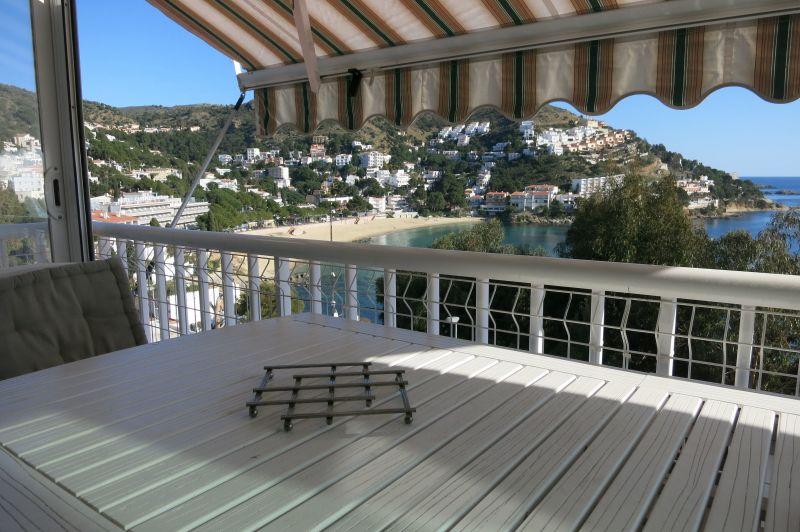 Vue de la terrasse Location Appartement 116004 Rosas