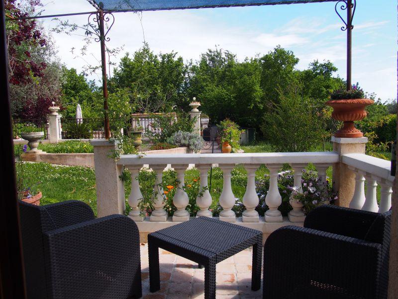Vue de la terrasse Location Gite 119365 Vence