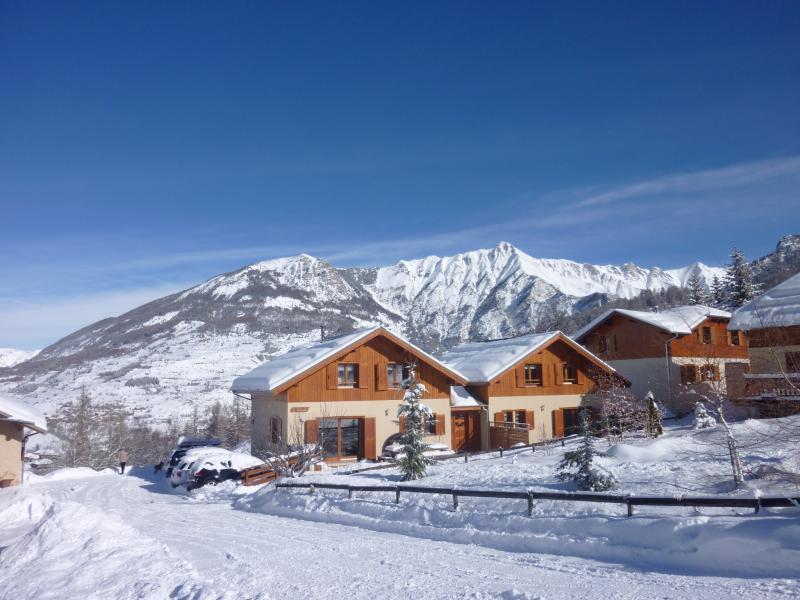 Vue extérieure de la location Location Chalet 65856 Les Orres