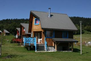 Vue extérieure de la location Location Chalet 65968 La Féclaz