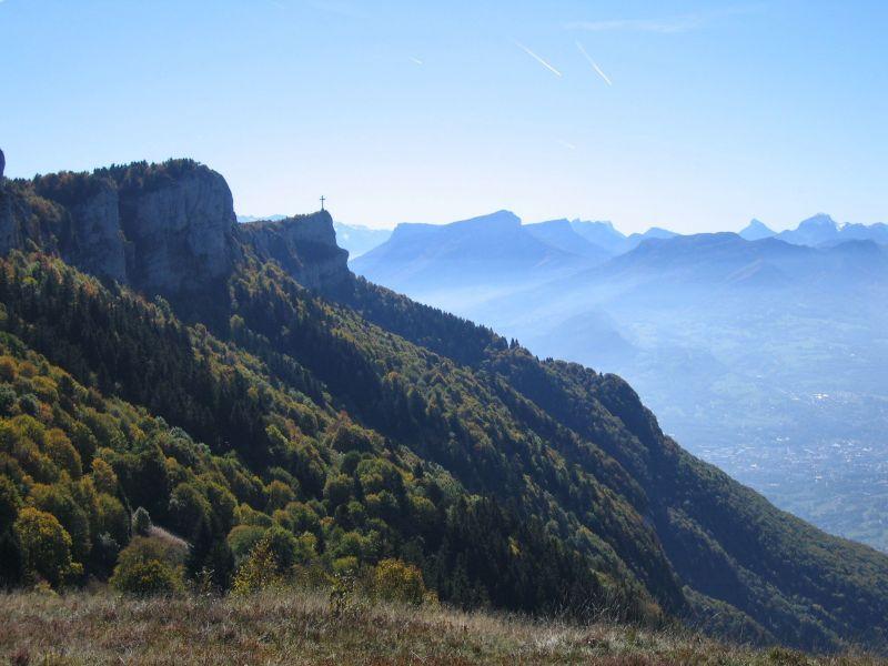 Vue à proximité Location Chalet 65968 La Féclaz