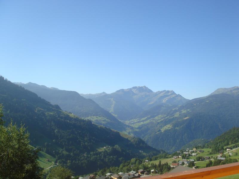 Vue de la terrasse Location Chalet 68480 Hauteluce