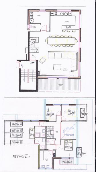 Plan de la location Location Appartement 76578 Valmorel