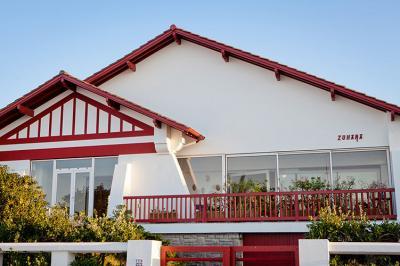 Vue ext�rieure de la location Location Maison 79682 Hendaye
