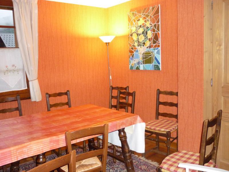 Salle à manger Location Chalet 80254 Samoëns