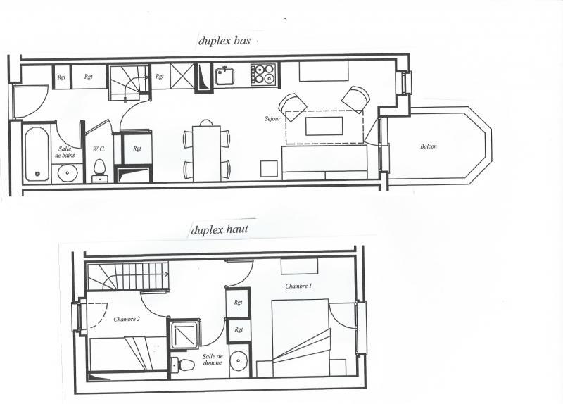 Plan de la location Location Appartement 80667 Avoriaz
